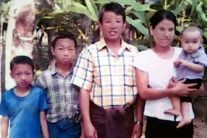 Pastor Tun Nu and his family