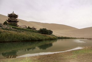Crescent Lake, Gansu Province, China