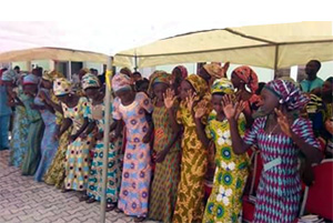 Since the release of the 21 Chibok students last October (pictured above), 82 more girls have recently been freed. (World Watch Monitor)
