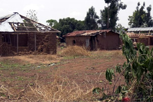 Destruction by the Fulani herdsmen - Photo: World Watch Monitor www.worldwatchmonitor.org