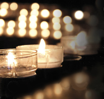 Candlelight Vigil, October 12th