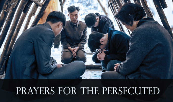 Prayers for the Persecuted